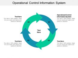 Operational Control Information System Ppt Powerpoint Presentation Styles Shapes Cpb