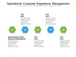 Operational Customer Feedback Survey Ppt Powerpoint Presentation Styles Model Cpb