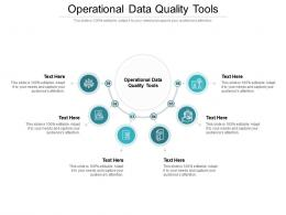 Operational Data Quality Tools Ppt Powerpoint Presentation Layouts Guide Cpb