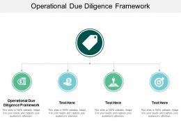 Operational Due Diligence Framework Ppt Powerpoint Presentation Professional Structure Cpb
