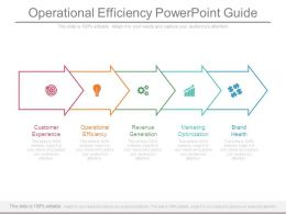 Operational Efficiency Powerpoint Guide