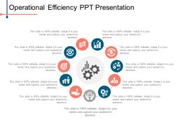 Operational Efficiency Ppt Presentation