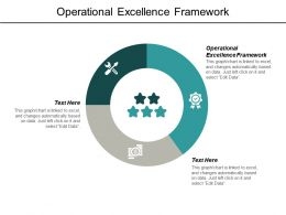 Operational Excellence Framework Ppt Powerpoint Presentation Pictures Infographics Cpb