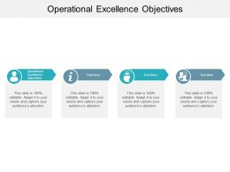 Operational Excellence Objectives Ppt Powerpoint Presentation Outline Infographic Cpb