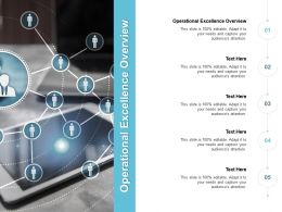 Operational Excellence Overview Ppt Powerpoint Presentation Infographic Template Display Cpb