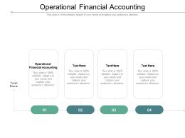 Operational Financial Accounting Ppt Powerpoint Gallery Inspiration Cpb