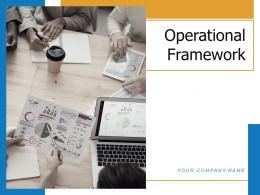 Operational Framework Investment Including Revenue Management Product Strategy