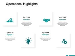 Operational Highlights Technology Innovation Ppt Powerpoint Presentation Portfolio Graphics