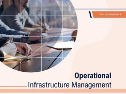 Operational Infrastructure Management Powerpoint Presentation Slides
