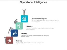 Operational Intelligence Ppt Powerpoint Presentation Gallery Deck Cpb
