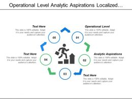 Operational Level Analytic Aspirations Localized Analytics Analytics Impaired