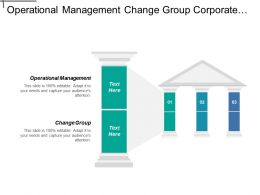 Operational Management Change Group Corporate Social Responsibility Accounting Quality
