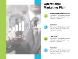 Operational Marketing Plan Ppt Powerpoint Presentation Layouts Tips Cpb
