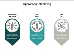 Operational Marketing Ppt Powerpoint Presentation Outline Show Cpb