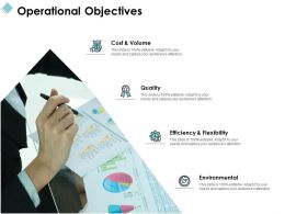 Operational Objectives Environmental Quality Ppt Powerpoint Presentation File Good