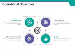 Operational Objectives Ppt Layouts Styles