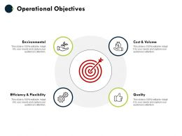 Operational Objectives Quality Environmental Ppt Powerpoint Presentation Layouts Deck