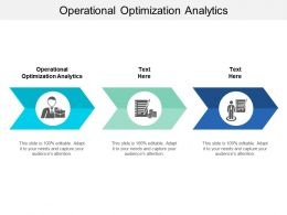 Operational Optimization Analytics Ppt Powerpoint Presentation Summary Slide Download Cpb