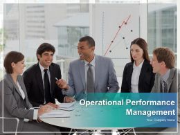 Operational Performance Management Powerpoint Presentation Slides