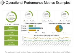 Operational Performance Metrics Examples Presentation Ideas