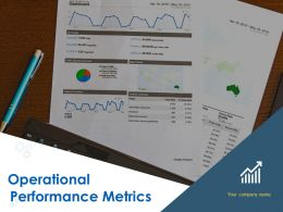 Operational Performance Metrics Powerpoint Presentation Slides