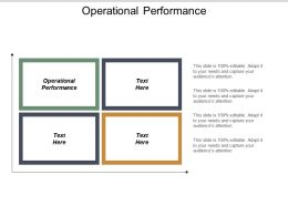 Operational Performance Ppt Powerpoint Presentation File Background Image Cpb