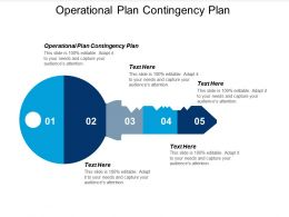 Operational Plan Contingency Plan Ppt Powerpoint Presentation Styles Skills Cpb
