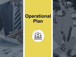 Operational Plan Gears Ppt Powerpoint Presentation Outline Maker