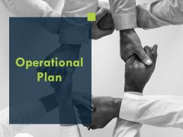 Operational Plan Opportunity Ppt Powerpoint Presentation Layouts Design Ideas