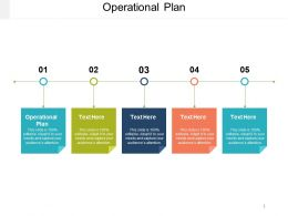 Operational Plan Ppt Powerpoint Presentation Gallery Example Introduction Cpb