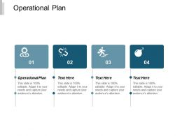 Operational Plan Ppt Powerpoint Presentation Icon Background Cpb