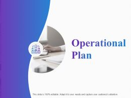 Operational Plan Ppt Powerpoint Presentation Model Portrait