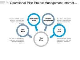 Operational Plan Project Management Internet Marketing Network Marketing Cpb