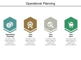 Operational Planning Ppt Powerpoint Presentation Model Sample Cpb