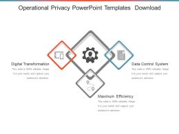 Operational Privacy Powerpoint Templates Download