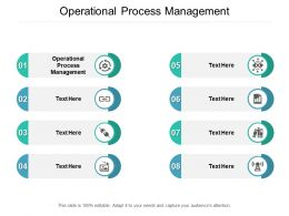 Operational Process Management Ppt Powerpoint Presentation Professional Examples Cpb