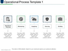 Operational Process Template 1 Ppt Infographics Graphics Pictures