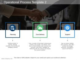 Operational Process Template 2 Ppt Slides Designs