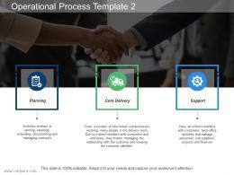 Operational Process Template 2 Ppt Slides Designs