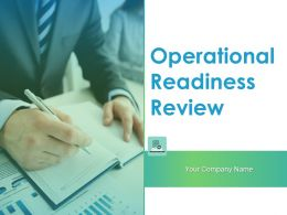 Operational Readiness Review Powerpoint Presentation Slides