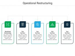 Operational Restructuring Ppt Powerpoint Presentation File Templates Cpb