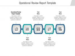 Operational Review Report Template Ppt Powerpoint Presentation Show Background Images Cpb