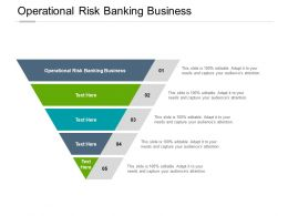 Operational Risk Banking Business Ppt Powerpoint Presentation Inspiration Skills Cpb