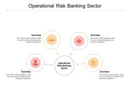 Operational Risk Banking Sector Ppt Powerpoint Presentation Layouts Outline Cpb