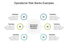 Operational Risk Banks Examples Ppt Powerpoint Presentation Inspiration Layouts Cpb