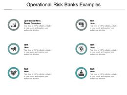 Operational Risk Banks Examples Ppt Powerpoint Presentation Slide Cpb