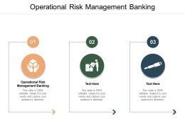 Operational Risk Management Banking Ppt Powerpoint Presentation Model Shapes Cpb