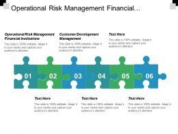 Operational Risk Management Financial Institutions Customer Development Management Cpb