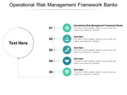 Operational Risk Management Framework Banks Ppt Powerpoint Presentation Show Styles Cpb