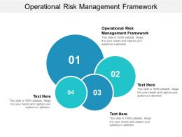 Operational Risk Management Framework Ppt Powerpoint Presentation File Portrait Cpb
